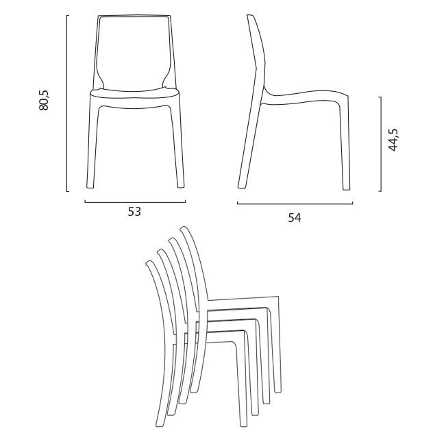 chaises femme fatale
